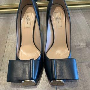 Valentino block heels